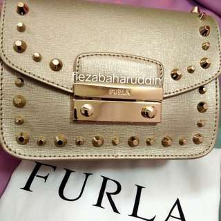 [NEW] Authentic Furla Julia Studded in Gold #15off