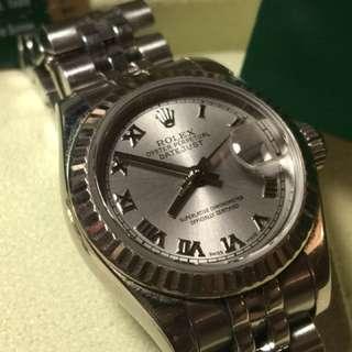 Rolex datejust ladies 179174