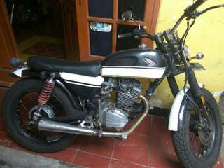 Honda GL up tiger