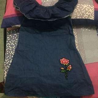 Denim Dress 3/4 yrs old