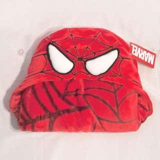 蜘蛛人頭帽披肩