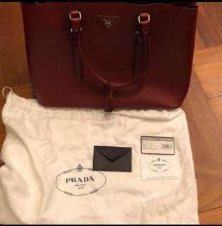 100% new Prada 手袋