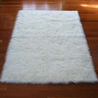 faux fur plush carpet 60x39inches