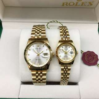 Exclusive Rolex Couple Watch