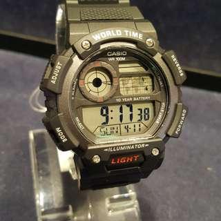 新貨😍casio 膠帶運動錶