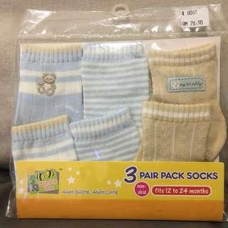50% Off Boy Teddy Socks