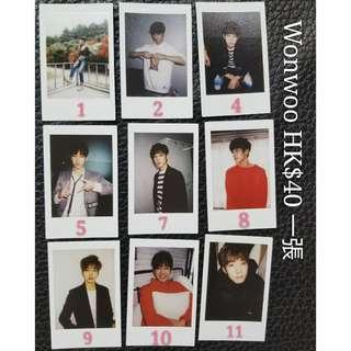 2016 LIKE SEVENTEEN Encore Wonwoo 小卡