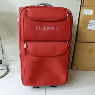 2 Wheels Luggage Size H 26inch W 16inch. Just use one times