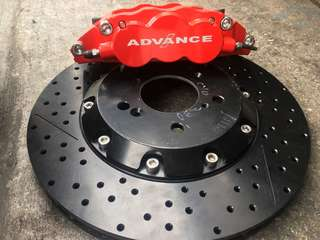 Brake kit / 6pot ADVANCE racing