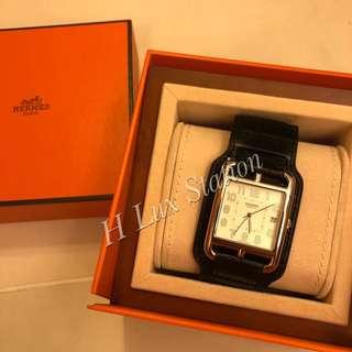 Hermes Cape Cod TGM watch