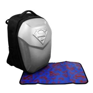 Simple Dimple Superman Papa Bag XL (Silver)