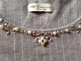 Earth blouse