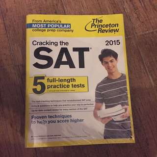 Cracking the SAT: 5 full-length practice tests