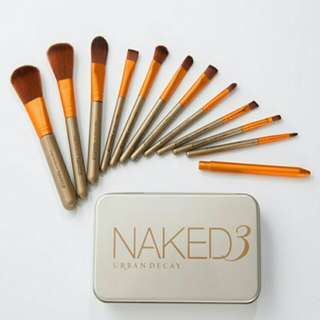NAKED 3 Urban Decay 12pcs brush set
