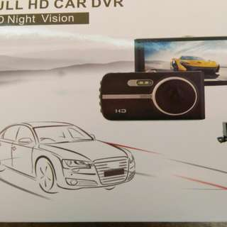 Dash Cam with night vision