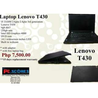 Laptop Lenovo T430