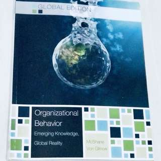 Organizational Behavior (7th Edition)