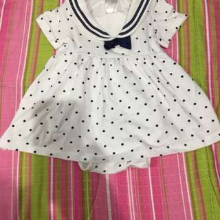 H&M baby dress (size 4-6) months