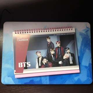 BTS Calendar (form Korea)