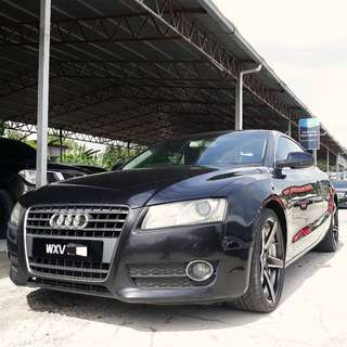 SAMBUNG BAYAR / CONTINUE LOAN  AUDI A5 2.0T COUPE YEAR 2009/2013 MONTHLY RM 2210 BALANCE 3 YEARS + ROADTAX AUGUST 2018 TIPTOP CONDITION  DP KLIK wasap.my/60133524312/a5