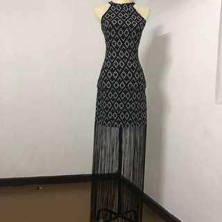 H&M Coachella Fringe Dress