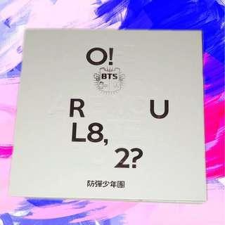 BTS O! R U L8, 2? album 💗