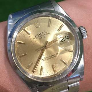 Vintage Rolex Oyster Perpetual Date