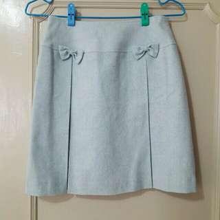 IENA 專櫃品牌 全新 水藍 天藍 裙子 短裙