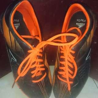 Sepatu Futsal Orange Black Merk Power