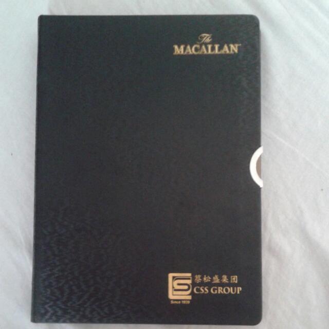 2018 Classy Black & Gold 'The Macallan' Diary