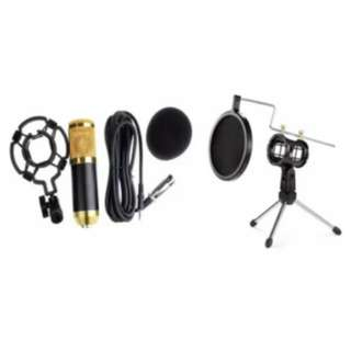 BM-800 Condenser Sound Recording Microphone with Shock Mount
