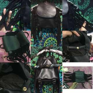 Mini Backpack Mayoutfit Black