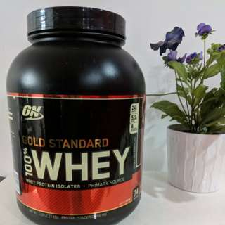 ON whey protein powder Double rich chocolate