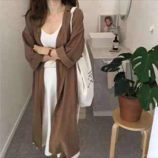 🚚 長襯衫 罩衫 洋裝