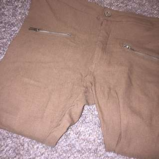 Nude brownish / caramel pants/jeggings