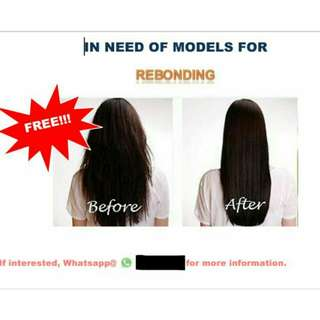 LOOKING FOR HAIR MODELS