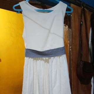 pito dito dress broken white