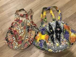 Handmade Batik sling bag