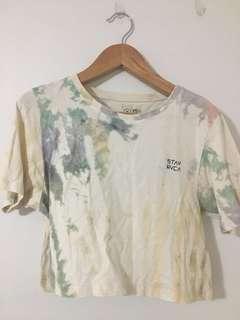Pastel Tie Dye Crop