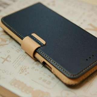 iPhone 7 / iPhone 8 / 4.7吋 神秘系列皮革保護套 - 海軍藍