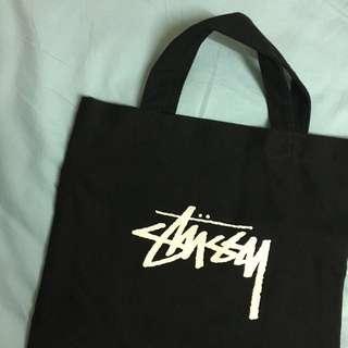 Stussy 帆布 雜誌包 手提