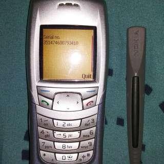 Nokia 6108 Samurai Rare langka