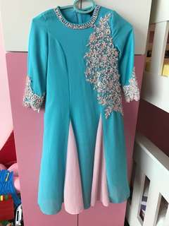 Girl's Jubah Long Dress
