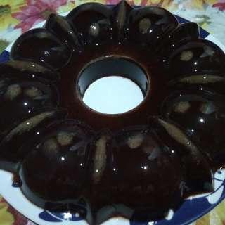 Pudding coklat