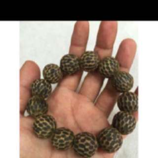 {FS138} 野生越南沉香手链 Wild Grade Vietnam Agarwood Bracelet 1