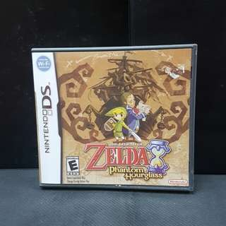 NDS The Legend of Zelda: Phantom Hourglass (Used Game)