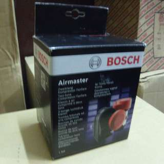 Bosch Air Master Air Horn Red 12 Volts with free relay