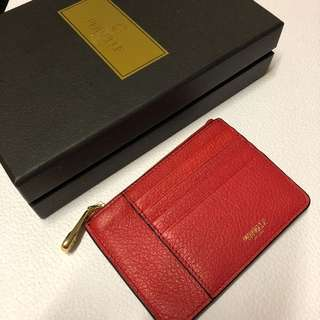 Pernelle leather card hold/ coins bag 真皮卡片套/散銀包