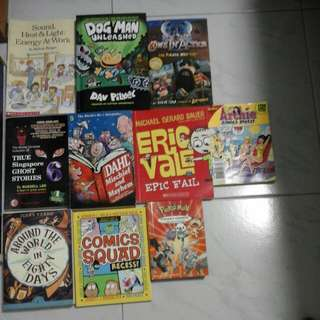 Story books for young teens