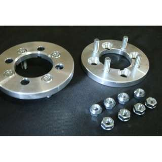 wheel spacer 4x100---4x114.3 25mm  silver color model 33775